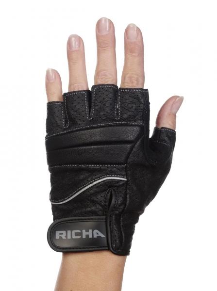Moto rukavice RICHA MITAINE bezprstové: XXL