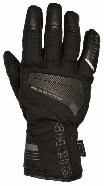 Moto rukavice RICHA DEFENSE WP černé: M