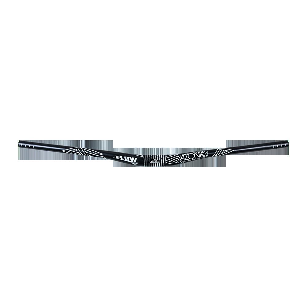 Řídítka Flow FAT35.0/ 785/18 mm černá/bílá