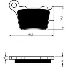 brzdové desky DP jako GF 191