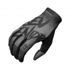 7idp Seven Transition DĚTSKÉ rukavice Gradient Graphite / Black