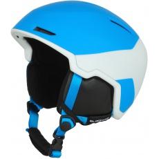 helma BLIZZARD Viper ski helmet, bright blue matt/white matt