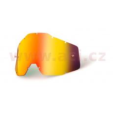 plexi Racecraft/Accuri/Strata, 100% (červené chrom, Anti-fog) *