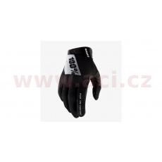 rukavice RIDEFIT, 100% - USA (černá/bílá)