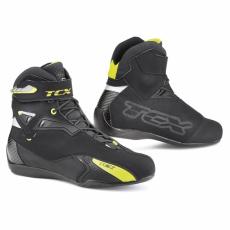 Moto boty TCX RUSH WP černo/žluté fluo