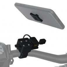 držák USB CLIQR, sada pro upevnění na řídítka, OXFORD