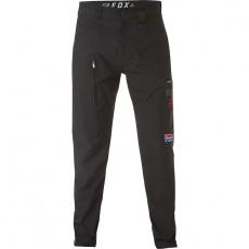 Pánské kalhoty HRC FOX Redplate Tech Cargo Pant Black
