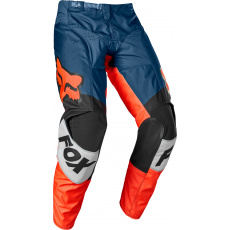 Pánské MX kalhoty Fox 180 Trice Pant Grey/Orange