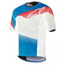 Alpinestars Mesa S/S Jersey dres Royal Blue Red White SLEVA