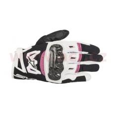 rukavice STELLA SMX-2 AIR CARBON, ALPINESTARS, dámské (černé/bílé/fialové)