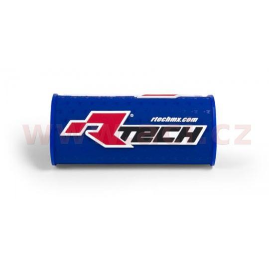 """chránič na bezhrazdová řídítka s nápisem """"Rtech"""" (pro průměr 28,6 mm), RTECH (modrý)"""