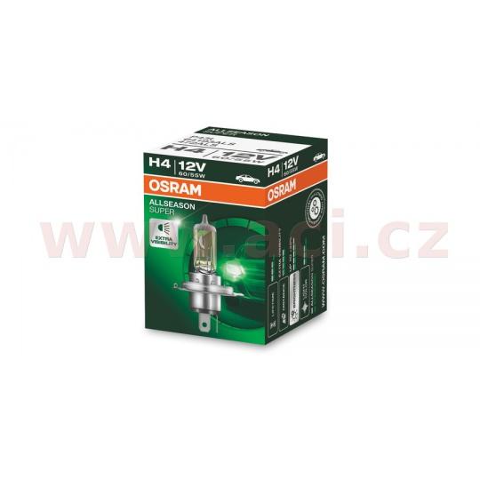 žárovka H4 60/55W (patice P43t) OSRAM ALLSEASON SUPER