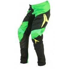 Dětské motokrosové kalhoty ALIAS MX A2 žluto/neonově zelené 2435-351
