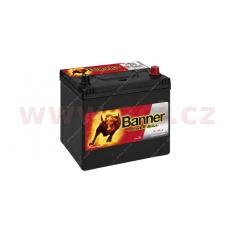 60Ah baterie, 510A, pravá BANNER Power Bull 233x173x203(225)