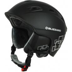 helma BLIZZARD Demon ski helmet, black matt/silver squares