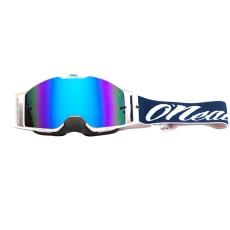 Brýle O´Neal B-30 Reseda červená/modrá modrá radium