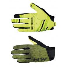 Pánské rukavice Northwave Mtb Air 3 F.Gloves Black/Yellow