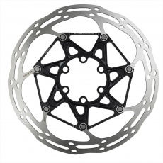 00.5018.037.020 - SRAM ROTOR CNTRLN 2P 180MM BLACK ST ROUNDED