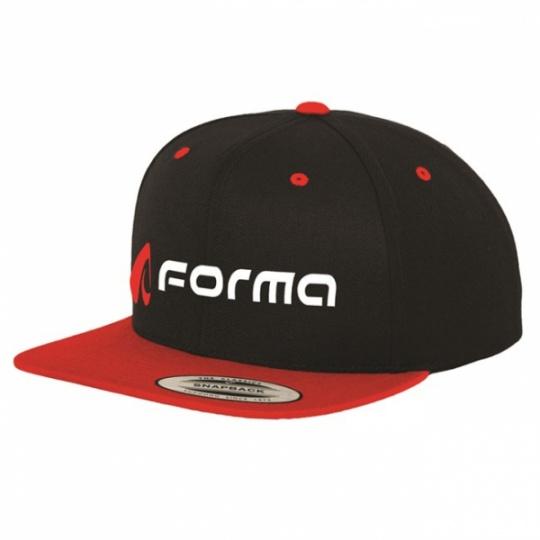 Kšiltovka FORMA černá FORX450