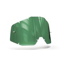 plexi pro brýle 100% Racecraft/Accuri/Strata, ONYX LENSES (zelené s polarizací)