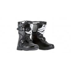 boty NEW Maverik Mini, FLY RACING, dětské (černá)