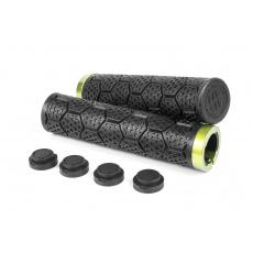 Gripy Sixpack D-Trix S.G.E.S. černá/zelená