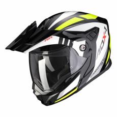 Moto přilba SCORPION ADX-1 LONTANO černo/neonově žlutá
