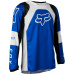 Dětský MX dres Fox Yth 180 Lux Jersey Blue