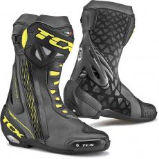 Moto boty TCX RT-RACE černo/žluté fluo