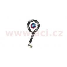 řetěz + zámek na kotoučovou brzdu Granit Victory (délka 120 cm, tloušťka 12 mm, tloušťka třmenu 12 mm), ABUS