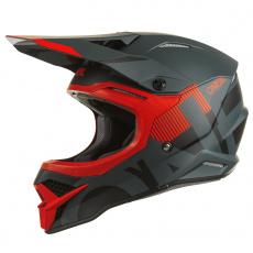 Přilba O´Neal 3Series VERTICAL černá/červená