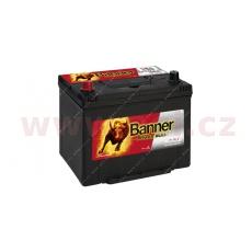 70Ah baterie, 600A, levá BANNER Power Bull 260x174x200(222)