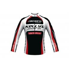 KELLYS Dres PRO Team dlouhý rukáv red - XS