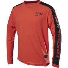 Dětský dres Fox Youth Ranger Dr Ls Jersey Orange Crsh