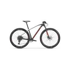 horské kolo MONDRAKER Chrono Carbon R 29, carbon/silver/red, 2021