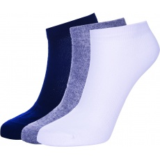 ponožky AUTHORITY Ankle Socks 3pck, white, shadow, blue