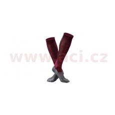 ponožky RUSH - Compressive, UNDERSHIELD (bordó/šedá)