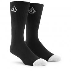 Pánské ponožky Volcom Full Stone Sock 3Pk Black