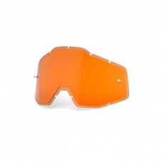 RACECRAFT/ACCURI/STRATA - HD Persimmon Anti-Fog Injected Replacement Lens