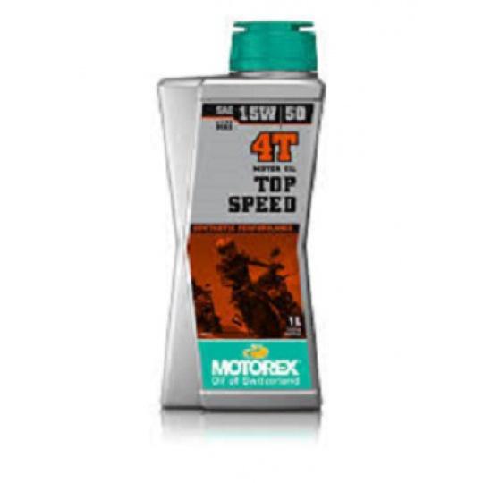 motorový olej 4t syntetický 15W50 1 litr