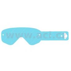 strhávací slídy plexi pro brýle SCOTT řady 80/RECOIL/Xi, Q-TECH (50 vrstev v balení, čiré)