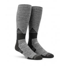 Pánské ponožky Volcom Kootney Sock Charcoal Heather