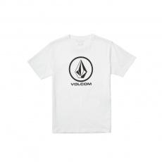 Dětské triko Volcom Crisp Stone Bsc Ss White