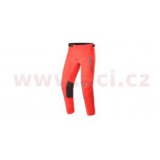 kalhoty RACER COMPASS 2021, ALPINESTARS, dětské (červená fluo/antracit)