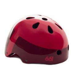 661 Dirt Lid - YOUTH Red helma dětská