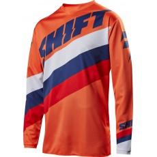 Pánský MX dres Shift Whit3 Tarmac Jersey Orange