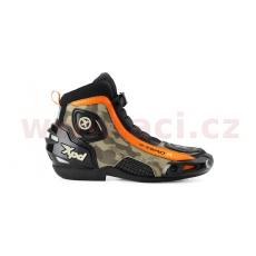 boty X-ZERO R, XPD (černé/camo/oranžové)