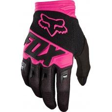 Fox Dirtpaw Race Glove - pánské MX rukavice Black/Pink