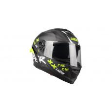 přilba Rafale SR Ride Oni, LAZER - Belgie (černá/šedá/fluo zelená/matná)