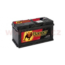 80Ah baterie, 660A, pravá BANNER Starting Bull 315x175x175